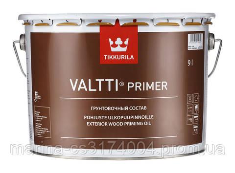 Бесцветный грунтовочный антисептик Tikkurila Valtti Primer 2,7л