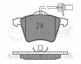Meyle 025 210 3419/W Колодки тормозные передние Volkswagen T-4