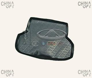 Коврик багажника, резино-пластик, Chery E5 [1.5, A21FL], CRCHA21, MEGA LOCKER