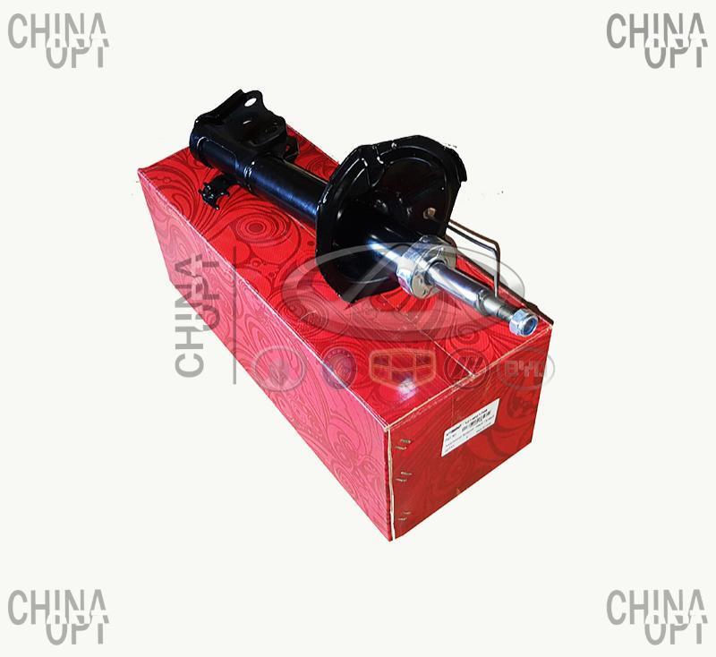 Амортизатор передний, левый / правый, шток D=14mm, газомасляный, Geely MK2 [1.5, с 2010г.], 1014001708, Aftermarket