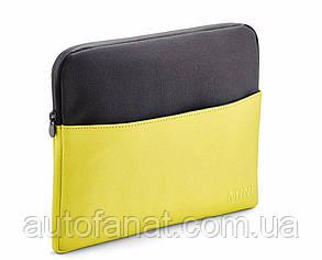 Оригинальный чехол для планшета MINI Tablet Cover Colour Block, Grey/Lemon (80212445666)