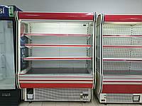 Стеллаж холодильный 1,6 м. бу. Горка холодильная бу. Регал бу. Холодильник бу