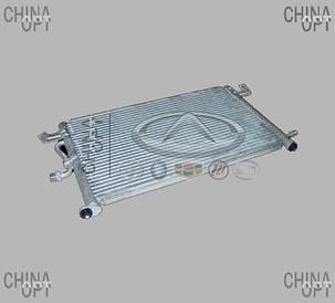 Радиатор кондиционера, Chery QQ [S11, 0.8], S11-8105010, Aftermarket