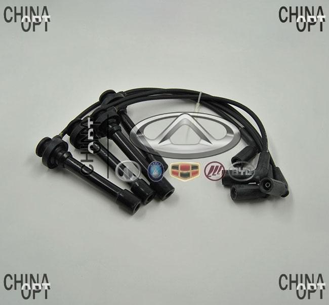 Провода высоковольтные, комплект, 4G63, 4G64, силикон, Great Wall Hover [H2,2.4], SMW250506/7/8/9, Sentech
