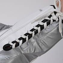 Перчатки боксерские кожаные на шнуровке TWIN BO-0279-S, фото 2