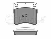 Meyle 025 231 7618/W Колодки тормозные передние Volkswagen T-4