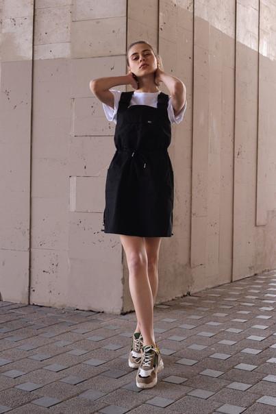 Сарафан жіночий чорний бренд ТУР Крісті (Christie) розмір S, M, L