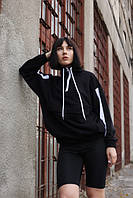 Анорак жіночий чорний бренд ТУР модель Соня (Sonya) розміри S,M