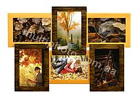 ОГРОМНЫЙ ассортимент деревьяных мультирамок на фото от производителя Руноко