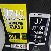 Модуль, тачскрин, сенсор Samsung Galaxy j7, j710  2016 год белый, фото 1