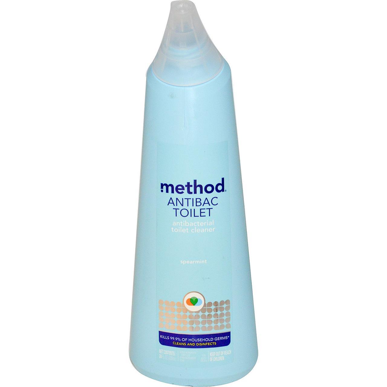 Method, Антибактериальное средство для чистки унитаза с ароматом мяты, 24 жидких унции (709 мл)