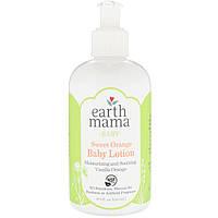 Earth Mama, Лосьон для малышей со сладким апельсином, ваниль и апельсин, 240мл