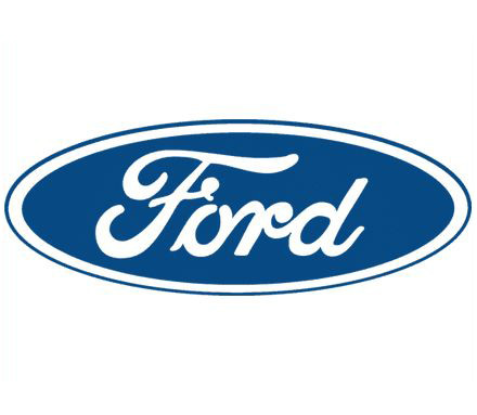 Хром накладки на решетки для Ford