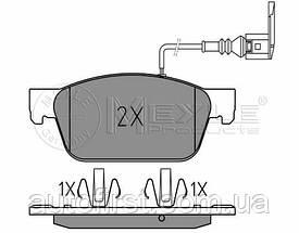Meyle 025 246 2318/W Колодки тормозные передние Volkswagen T-5