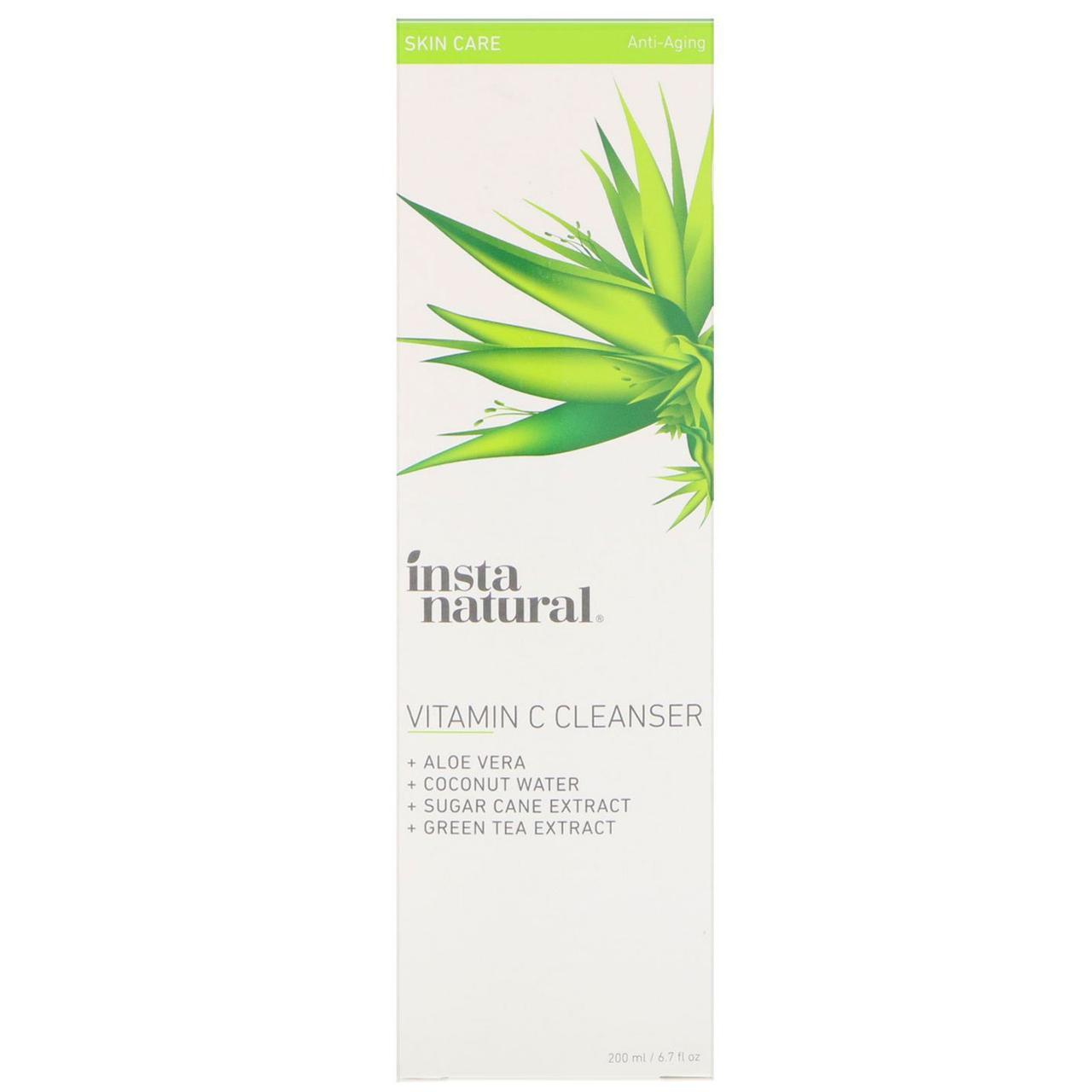 InstaNatural, Очищающее средство с витамином C, против старения, 6,7 ж. унц. (200 мл)