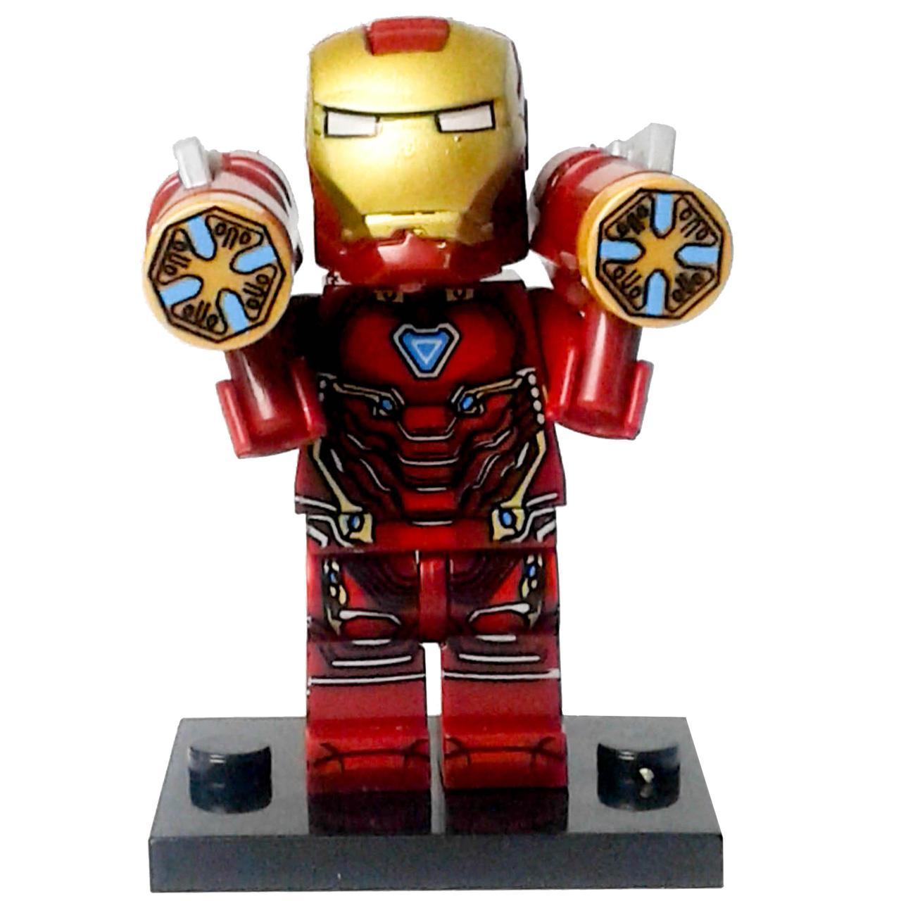 Залізна людина Месники Супергерой Марвел Аналог лего