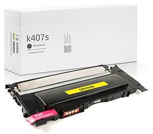 Картридж Samsung CLT-K407S (чёрный) совместимый, стандартный ресурс (1.500 копий), аналог от Gravitone