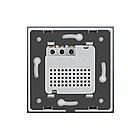 Терморегулятор сенсорный Livolo для водяных систем отопления цвет золото (VL-C701TM-13), фото 4