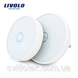 Сенсорный беспроводной дверной звонок Livolo (VL-D101K-11/D101EU-11)