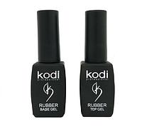 Набор Kodi Rubber Base 8 мл + Kodi Rubber Top 8 мл