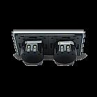 Сенсорный радиоуправляемый выключатель Livolo 4 канала (2-2) серый стекло (VL-C702R/C702R-15), фото 3