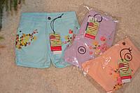 Котоновые  шорты для девочек Glo Story134-164см
