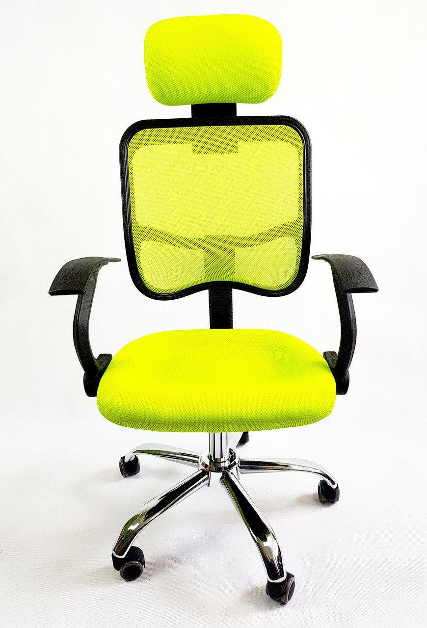Крісло офісное Ergo D05 green