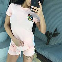 Женский костюм шорты с футболкой, фото 1