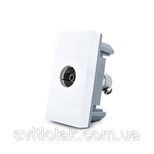 Механизм розетка телевизионная Livolo TV белый (VL-C7-1V-11)