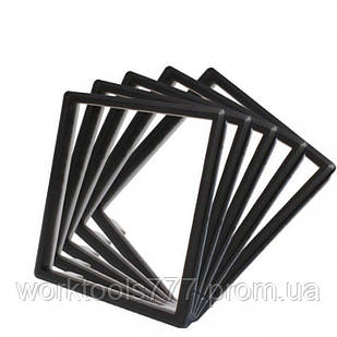 Обідок розетки Livolo набір 5 шт колір чорний (DF10-12)