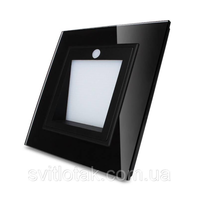 Светильник для лестниц подсветка пола Livolo с датчиком освещенности черный (VL-W291JD-12)