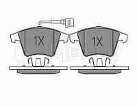 Meyle 025 237 4619/W Колодки тормозные передние Volkswagen T-5