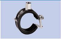Хомуты  металлические с виброгасителем 3/8'' 15-19 мм., фото 1