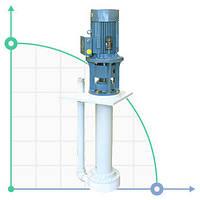 Вертикальный центробежный химический насос  IM 160 PP