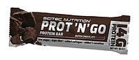 Батончик Scitec Nutrition - Prot`n`Go (45 грамм) голландский шоколад