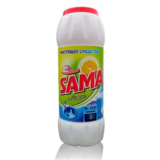 Чистящее Средство Лимон Порошкообразное Sama 500 Мл (4820020262792)