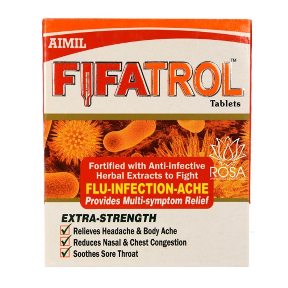 Файфатрол (Fifatrol, Aimil Pharmaceuticals) от гриппа, вирусных инфекций, 30 таблеток