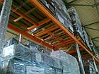 Стеллаж паллетный приставной H4000хL1800х1100 мм(пол.+2 уровня по 2400 кг на уровень), для хранения паллет, фото 7