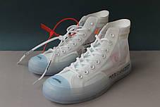 Мужские кроссовки Converse X Off-White Chuck Taylor, фото 2