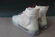 Мужские кроссовки Converse X Off-White Chuck Taylor, фото 3