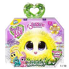 Няшка-Потеряшка плюшевый питомец сюрприз Цветочный кролик Little Live Scruff-A-Luvs