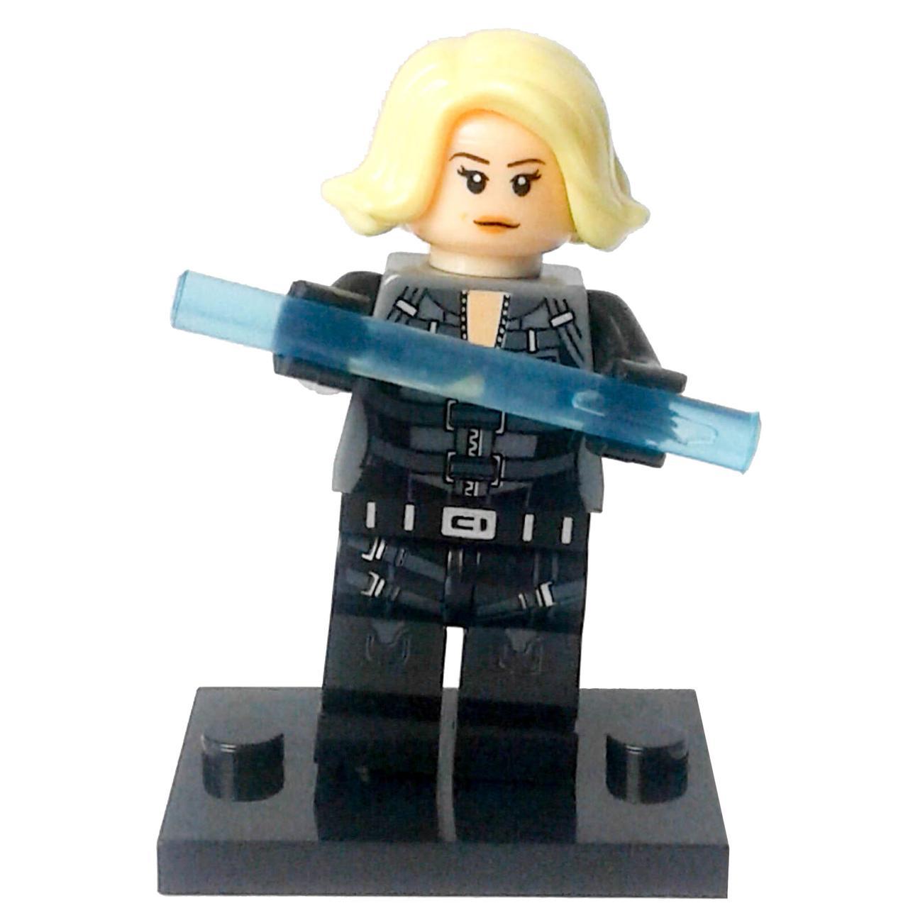 Чёрная вдова Мстители Супергерой Марвел Аналог лего