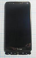 Motorola Razr M (XT907) LCD, дисплей, модуль в рамці (Original) б/у, чорний