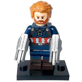 Капитан Америка Мстители Супергерой Марвел Война Бесконечности Аналог лего