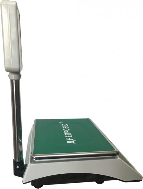 Весы электронные с поверкой 30 кг Днепровес