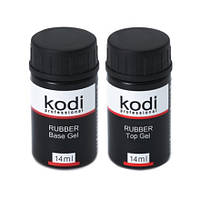 Набор Kodi Rubber Base 14 мл + Kodi Rubber Top 14 мл