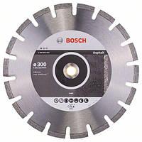 Алмазный отрезной круг по асфальту Bosch Standard for Asphalt 300x20/25.4x2.8x10 мм