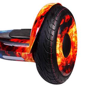 Гироборд SMART BALANCE Premium 10.5 Лед и пламя, фото 2