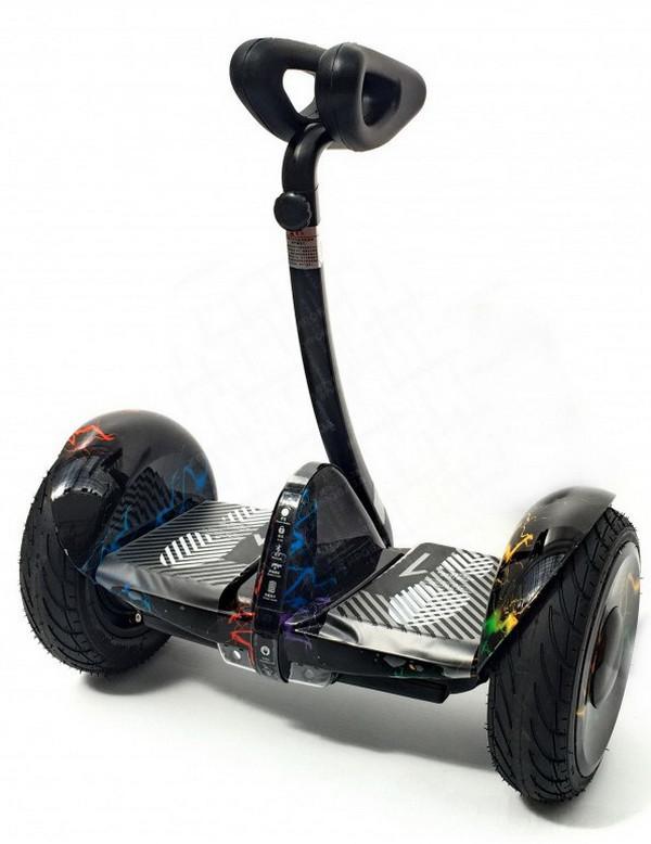 Мини Сигвей MiniRobot Ninebot Mini Pro 10.5 Цветная молния