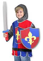 """Детский карнавальный костюм """"Рыцарь"""" для мальчика 3-6 лет ТМ Melissa & Doug MD14849"""